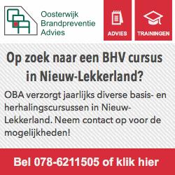 Sponsors EHBO Nieuw-Lekkerland